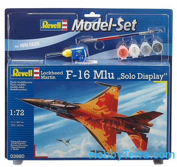 "Model Set. F-16 Mlu ""Solo Display"""