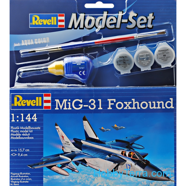 Model Set. MiG-31 Foxhound