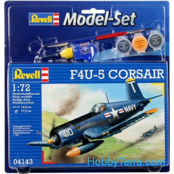 Revell  64143 Model Set. F4U-5 Corsair