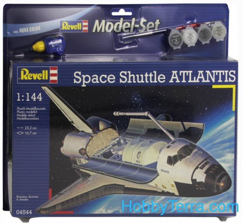 Model Set. Space shuttle Atlantis
