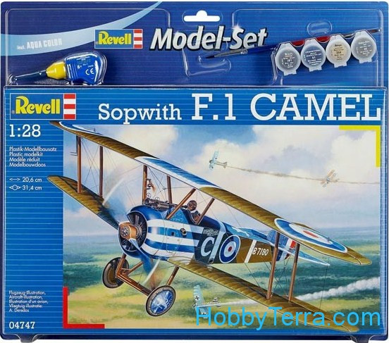 "Model Set. Sopwith F1 ""Camel"""