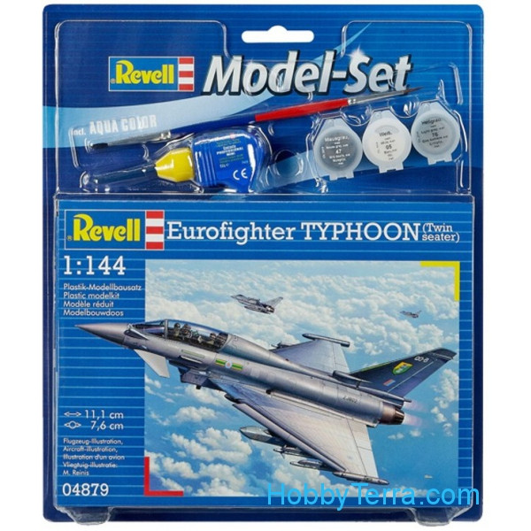 Model Set. Eurofighter Typhoon twin-seater