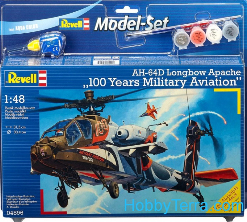 "Model Set. AH-64D Apache ""100-Military Aviation"""