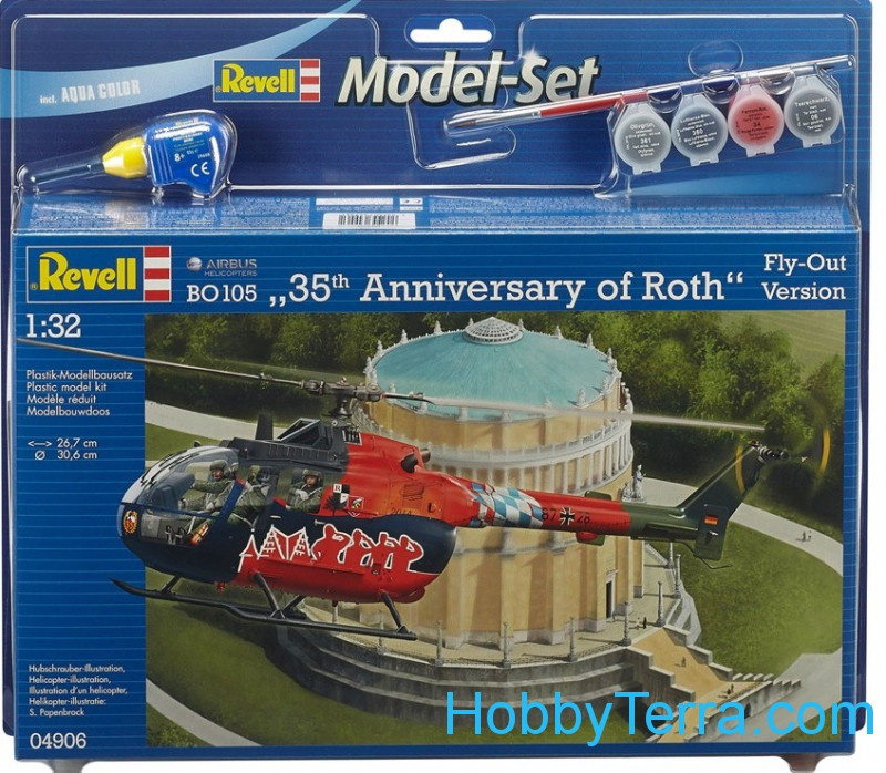 "Model Set. BO 105 ""35th Anniversary of Roth"""