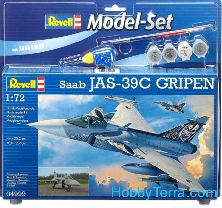 Model Set. Saab JAS 39C Gripen