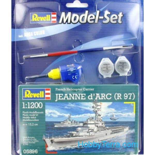 Revell  65896 Model Set. Jeanne d'Arc (R97)