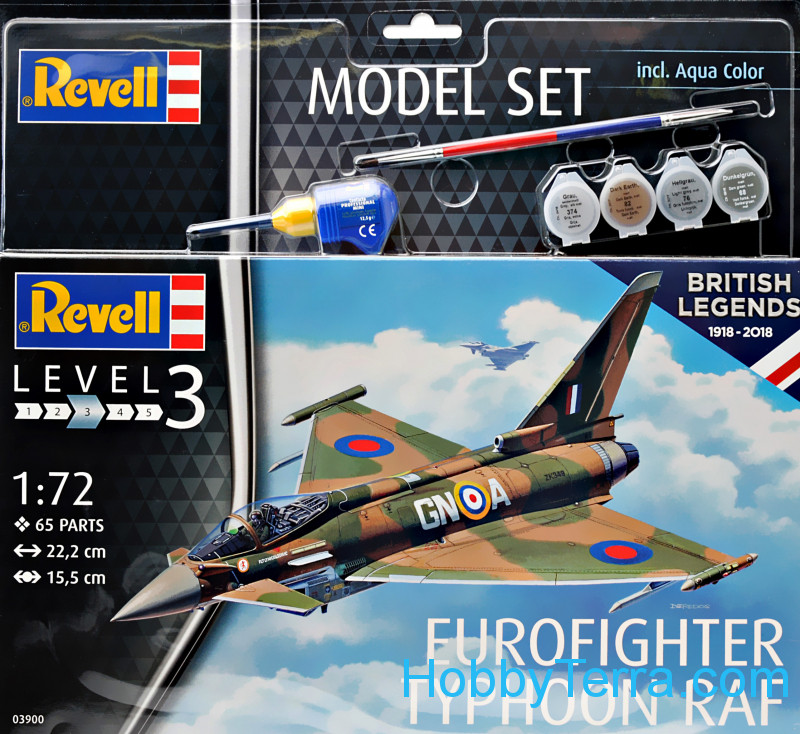 Revell  63900 Model set - Fighter Eurofighter Typhoon