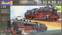 Steam Locomotive BR 43 Tender 2'2 T30 & BR 43 Tender 2'2 T32