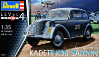 "German Staff Car ""Kadett K38 Saloon"""
