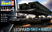 "Leopard 1A5 with Bridgelayer ""Biber"""