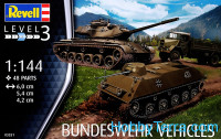 Bundeswehr vehicles (6 model kits in box)
