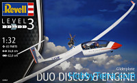 Glider Duo Discus & Engine