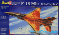 "Lockheed-Martin F-16 Mlu ""Solo Display"" fighter"