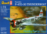 P-47D-30 Thunderbolt fighter-bomber