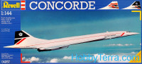 Concorde airliner