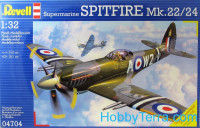 Supermarine Spitfire Mk-22/24 fighter
