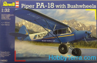 Piper PA-18 with brushwheels