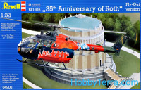 "BO 105 helicopter ""35th Anniversary of Roth"""