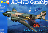 AC-47D Gunship attack aircraft