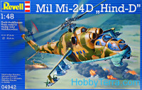 Mil Mi-24 Hind D helicopter
