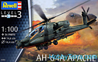 Attack helicopter AH-64A