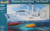 "Titanic Searcher ""Le Suroit"" ship"