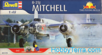 "Model Set. B-25J Mitchell ""Flying Bulls"""