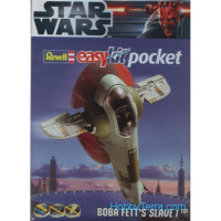 Star Wars. Spaceship Boba Fett's Slave I - easy kit Poсket