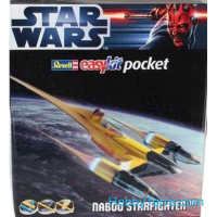Star Wars. Naboo starfighter - easy kit Poсket