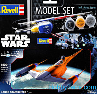 Model Set. Star Wars. Star fighter Naboo. Level 3