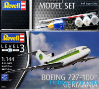 Model Set. Boeing 727-100 Germania