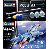 Model Set. Su-27 Flanker Sukhoi
