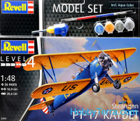 Model Set. Stearman P-17 Kaydet