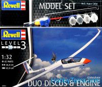 Model Set - Glider Duo Discus & Engine