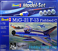 Model Set. MiG-21 F-13 Fishbed C