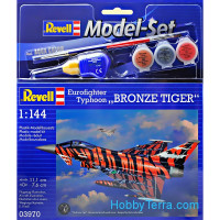 "Model Set. Eurofighter ""Bronze Tiger"""