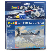Model Set. F4U-1A Corsair