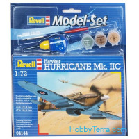 Model Set. Hawker Hurricane Mk.IIC RAF fighter
