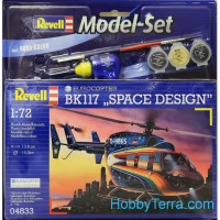 Model Set. Eurocopter BK 117 'Space Design'