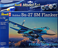 Model Set. Sukhoi Su-27SM Flanker