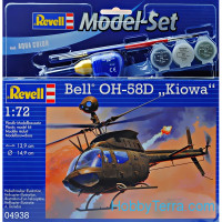 "Model Set. Bell OH-58D ""Kiowa"" helicopter"