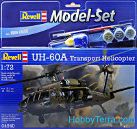 Model Set. UH-60A transport helicopter