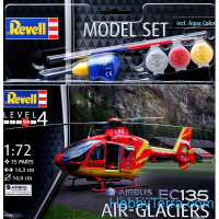 Model Set. EC135 Air-Glaciers