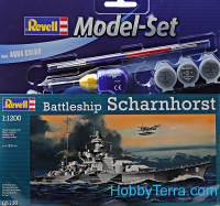 Model Set. Battleship Scharnhorst