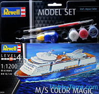 Model Set. Ship M/S Color Magic
