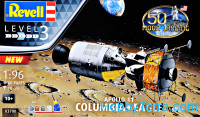 Model Set - Command Module Colombia and Lunar Module Apollo Eagle Mission 11