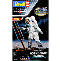 Model Set - Astronaut on the moon. Mission apollo 11
