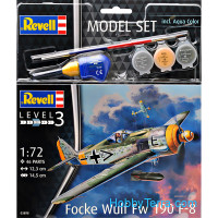 Model set - Fighter Focke Wulf Fw190 F-8