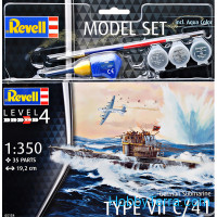 Model set - german submarine type VII C/41
