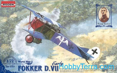 Roden  025 Fokker D.VII early
